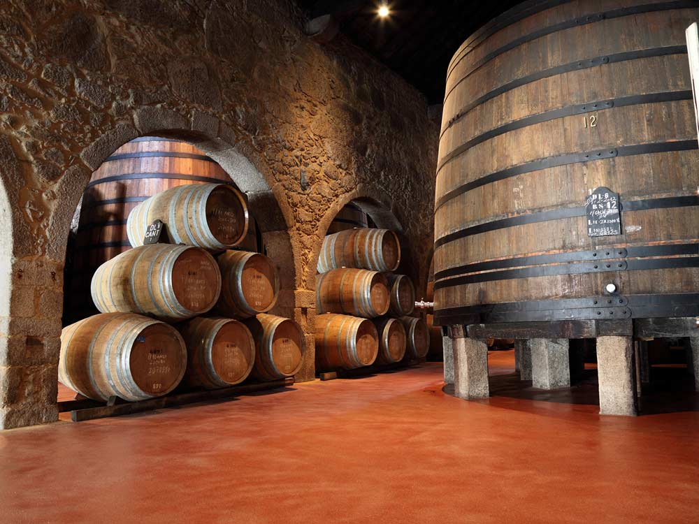 Port Wine Cellar in Porto — © Buzz