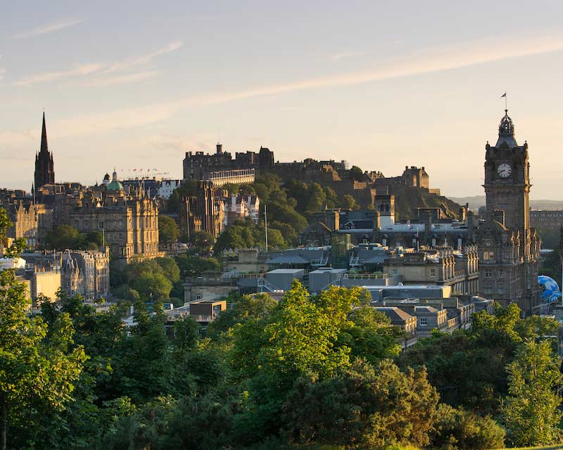Edinburgh city, Scotland