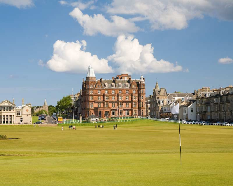 1st Hole at St Andrews, Scotland