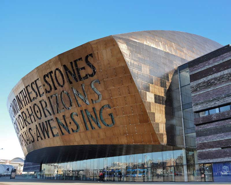 The Millennium Centre in Cardiff Bay, Wales