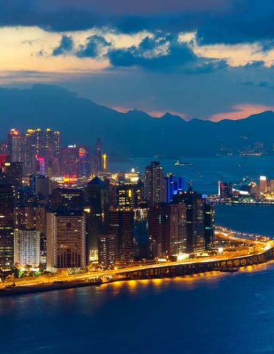 Hong Kong  at Night — China Star