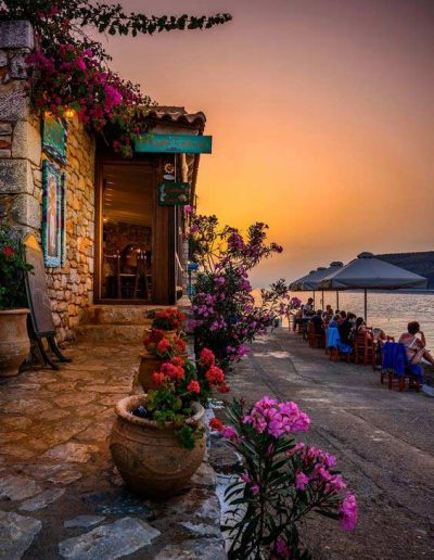 Taverna by the sea Limeni Mani
