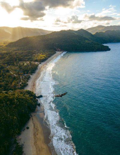 The shore of the Dominican Republic