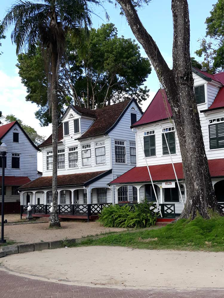 Paramaribo - A Dutch Colony