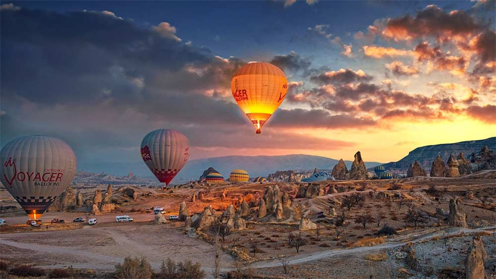 Hot Air Ballooning in Cappadocia — DreamUp DMC