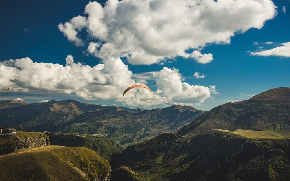 Paragliding in Kazbegi — NextUp MICE Georgia