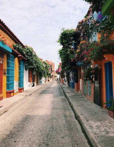 Streets of Cartagena de Indias, Cartagena, Colombia