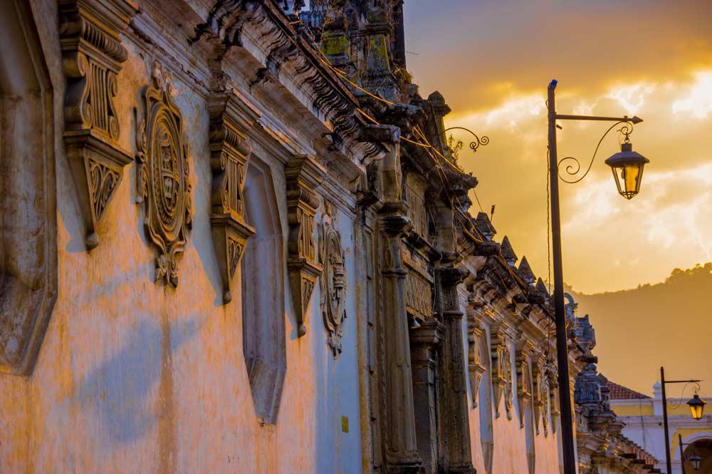 Antigua facade