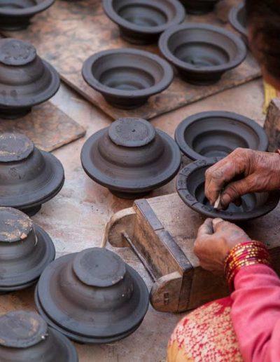Bhaktapur Pottery — Nepal, Hi Tours
