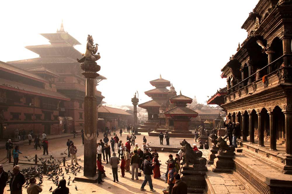 Patan in Mist — Nepal, Hi Tours