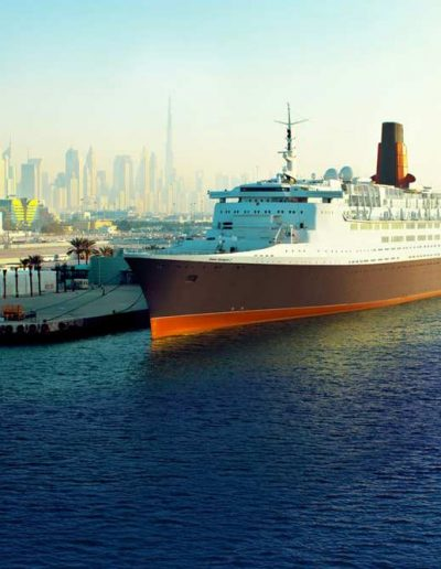 Queen Elizabeth 2 — UAE, Equifax Tourism & Travel LLC