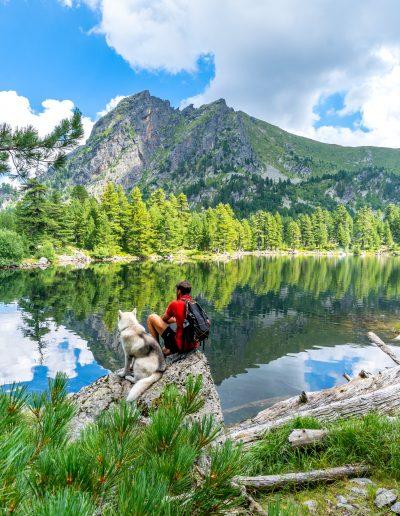 Hridsko Lake in Montenegro