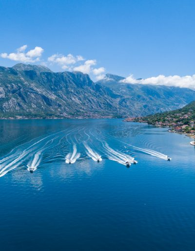 Speed boat adventrure in Montenegro