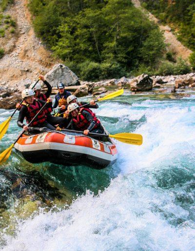 Tara river rafting in Montenegro